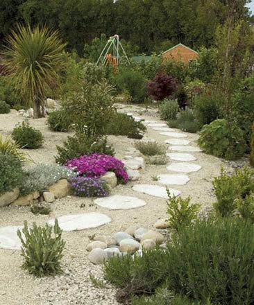 Massifs, haie bocagère, rocailles, talus, gazon, jardins ...