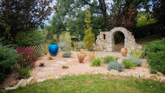 Jardin sec à privas