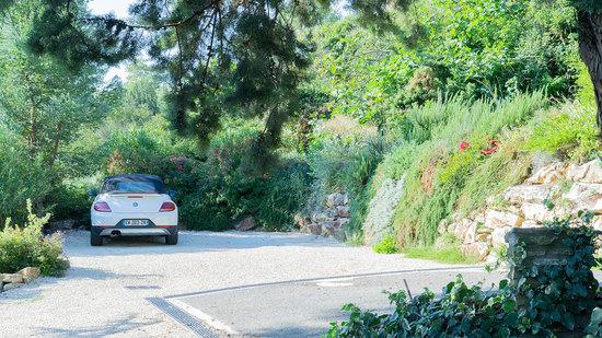Parking végétalisé à Bourg st Andéol